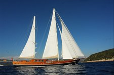 Enjoy a relaxing holiday on the Turkish coast aboard a 135' gulet