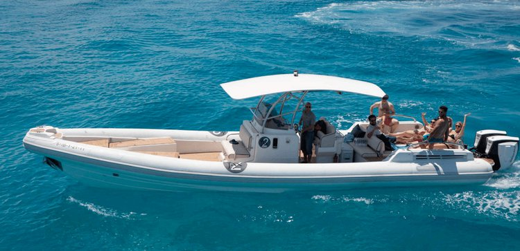 Have fun in Ibiza, Spain aboard 39' Rigid Inflatable Boat