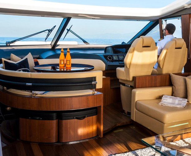 Discover Marina Del Rey surroundings on this Princess V72 UNIQ boat
