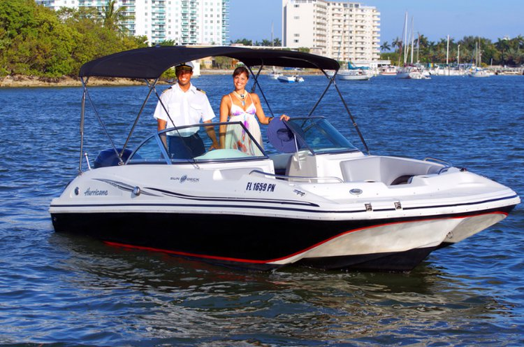 Boat for rent Hurricane 19.0 feet in Miami Beach, FL