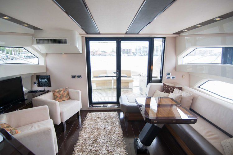 Boating is fun with a Flybridge in North Miami Beach