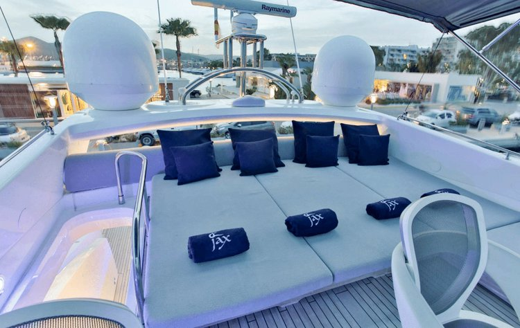 Sunseeker boat for rent in ibiza