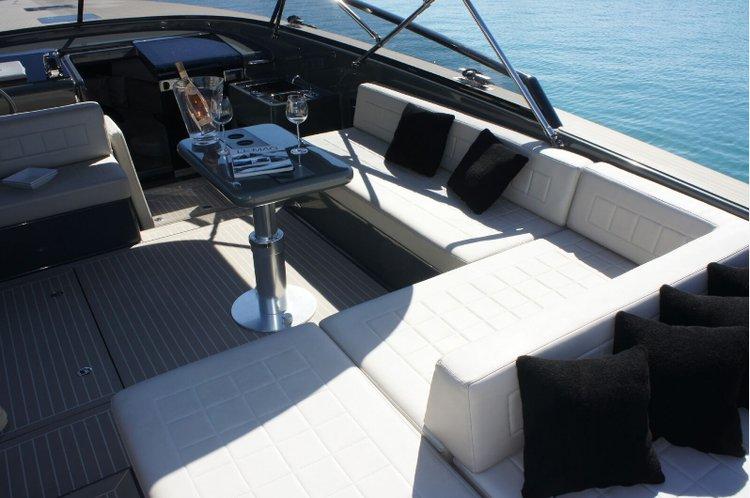 Motor yacht boat rental in Marina Ibiza,
