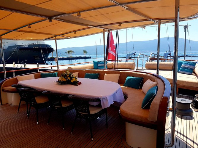 Boat for rent Custom 128.0 feet in Porto Montenegro,