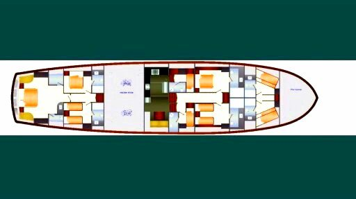 Discover  surroundings on this Custom Custom boat