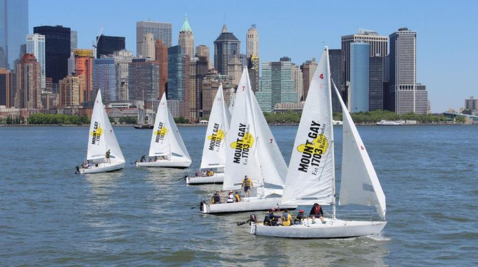 Enjoy best outdoor event in summer - SAILING!