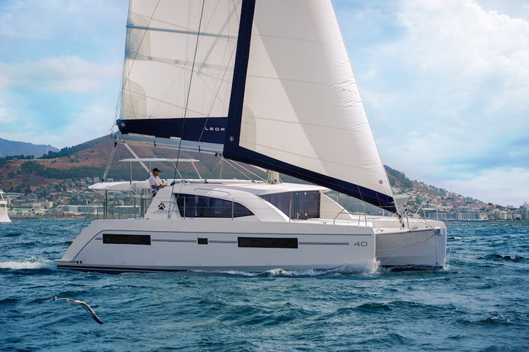 Explore the amazing views in California aboard 40' cruising catamaran