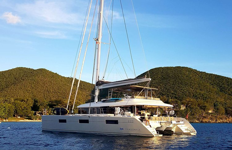 Charter a 62' cruising catamaran on British Virgin Islands