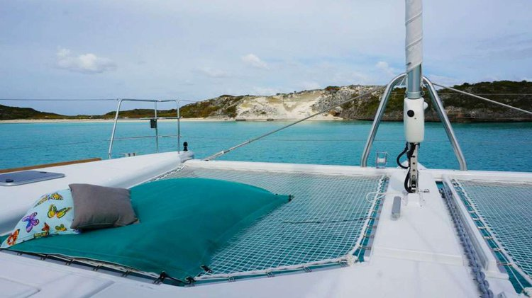 Boating is fun with a Catamaran in Nancy Cay