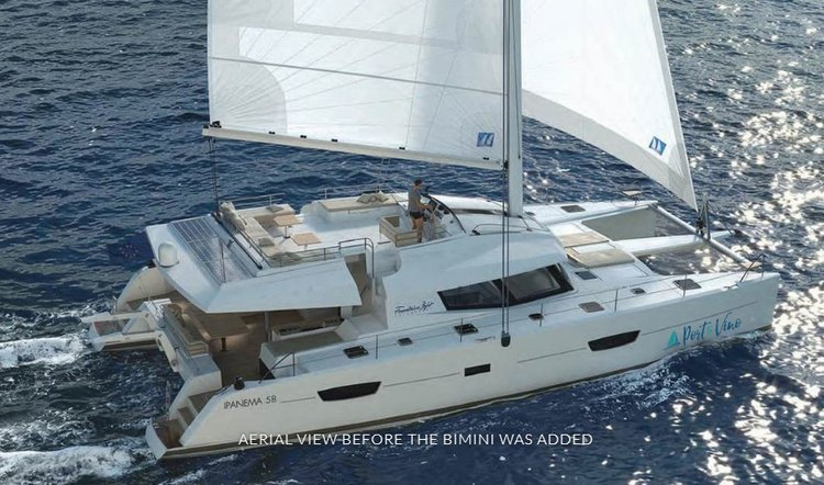 Charter an amazing 58' cruising catamaran on British Virgin Islands