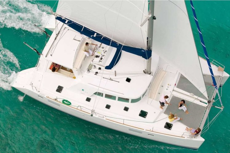 Have you ever sailed in a cruising catamaran?