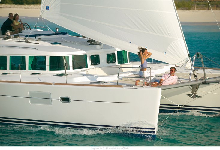 Catamaran boat rental in Marina de Lagos,