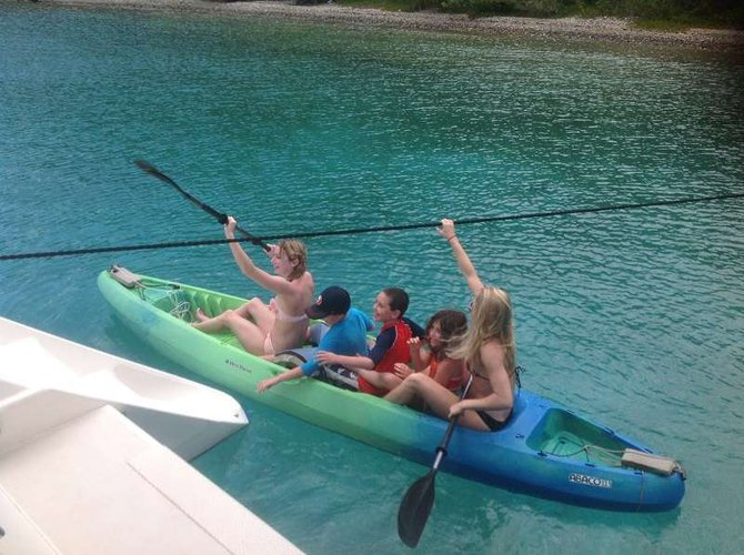Catamaran boat rental in Nancy Cay, British Virgin Islands