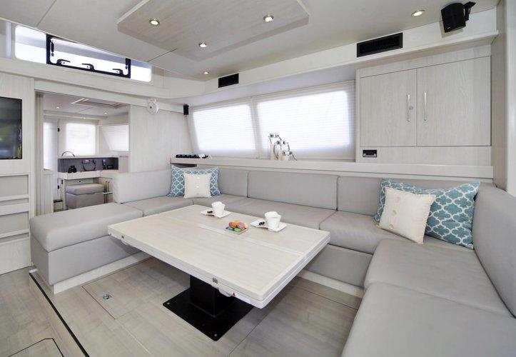 Catamaran boat rental in Nancy Cay,