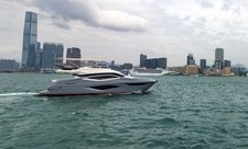 Explore maritime Hong Kong on a Numarine 62 Flybridge