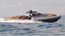 Explore Ibiza, Spain aboard Sacs Strider 18