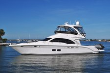 Stylish and Fun Sea Ray 52' Sedan Bridge