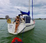 thumbnail-29 Canadian Sailcraft 30.0 feet, boat for rent in Key Biscayne, FL