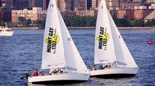 Learn to sail with a professional captain on our J/24