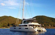 Charter a 62' cruising catamaran on British Virgin Islands