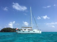 Enjoy cruising on the British Virgin Islands aboard 57' Fountaine Pajot