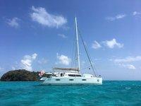 Enjoy cruising on the British Virgin Islands aboard 57' Fountaine Pajot