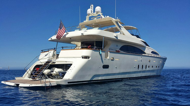 Climb aboard 100' Azimut and enjoy amazing California