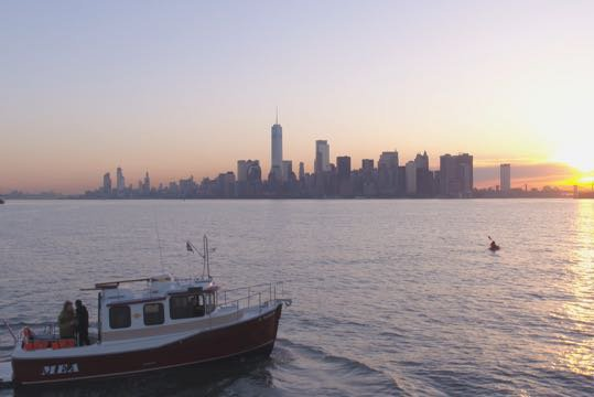 This 25.0' Ranger Tugs cand take up to 6 passengers around Sheepshead Bay