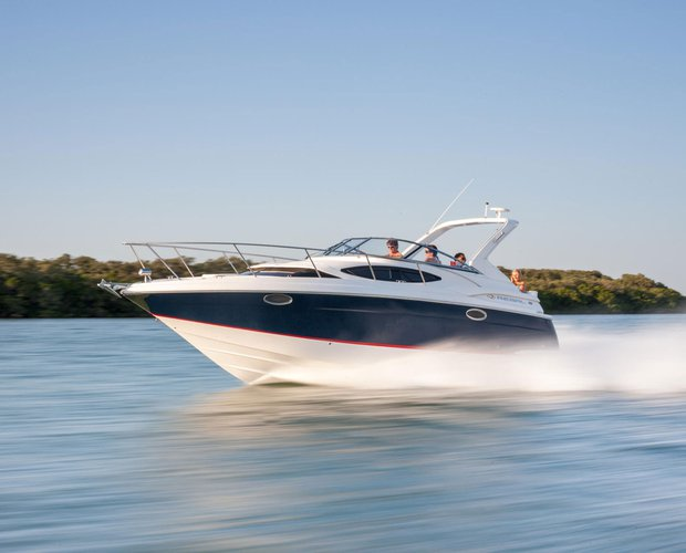 Enjoy a day on the water on this beautiful Regal Cruiser
