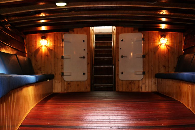 Discover Lisboa surroundings on this 80 ft wooden boat Viana Ship boat