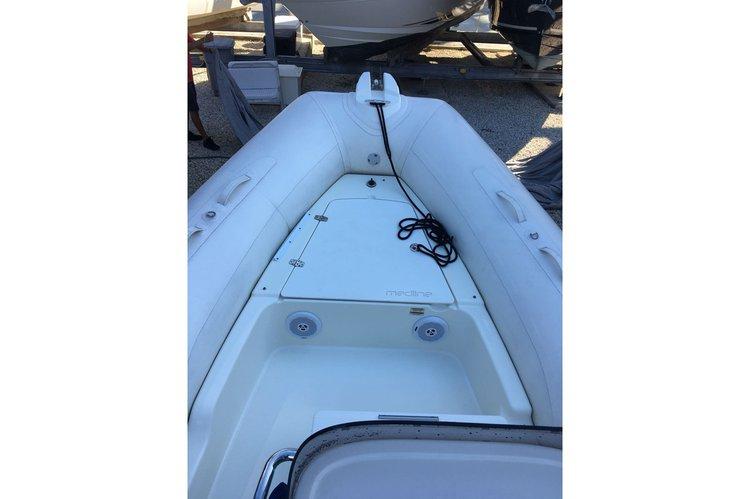 Bow rider boat rental in Rickenbacker Marina, FL