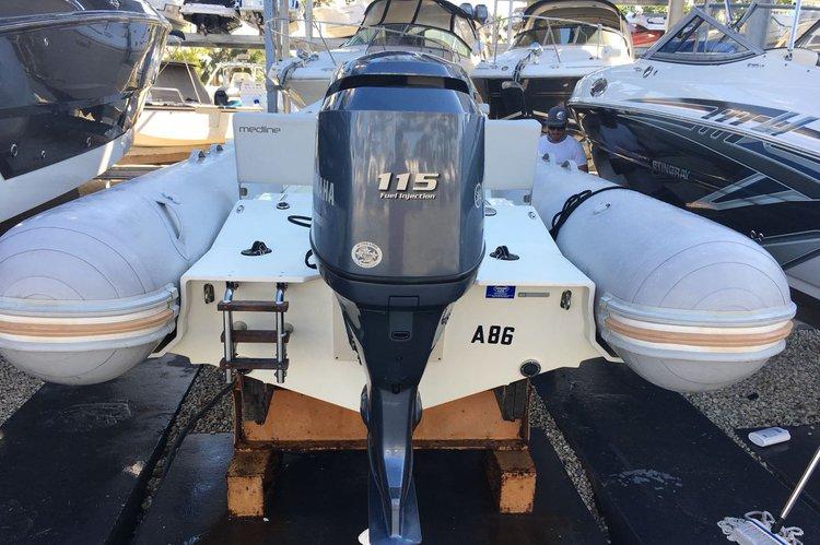 Zodiak's 19.0 feet in Key Biscayne