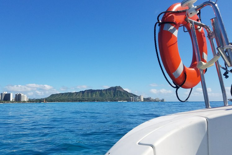 Boating is fun with a Catamaran in Honolulu