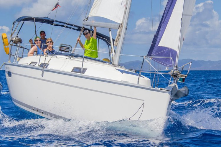 Sail through the British Virgin Islands aboard this incredible Bavaria