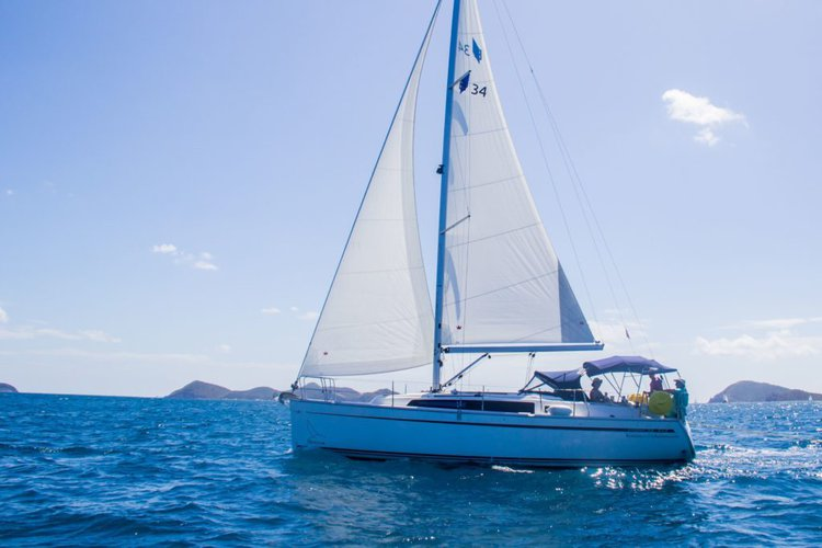 Sail through the British Virgin Islands aboard this luxurious Bavaria