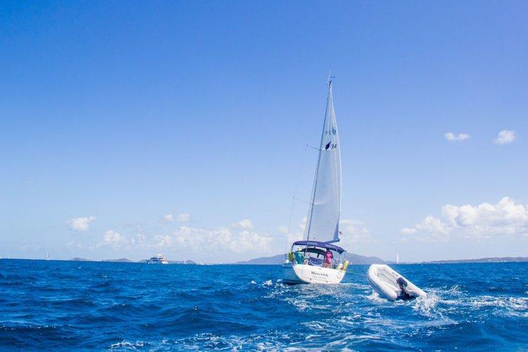 Bavaria's 32.0 feet in Nanny Cay