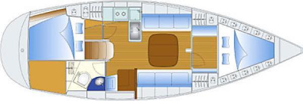 Bavaria boat for rent in St. Vincent