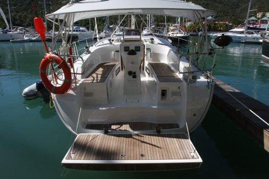Bavaria's 37.0 feet in Nanny Cay