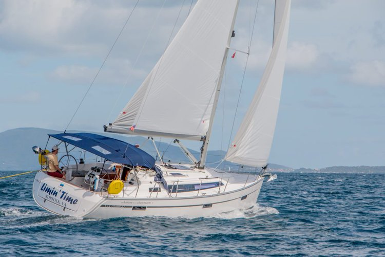 Sail through the British Virgin Islands aboard this superb 37