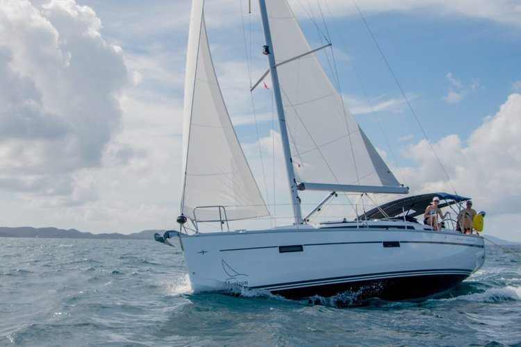 This 37.0' Bavaria cand take up to 6 passengers around Nanny Cay