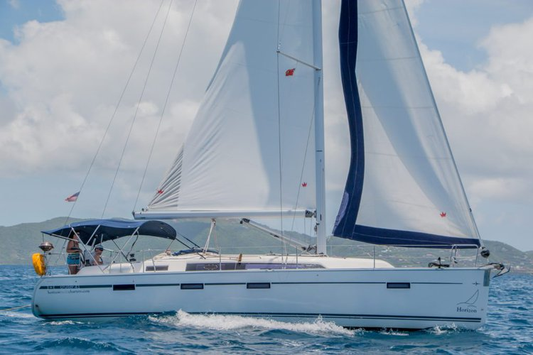 Discover Nanny Cay surroundings on this 41 Bavaria boat