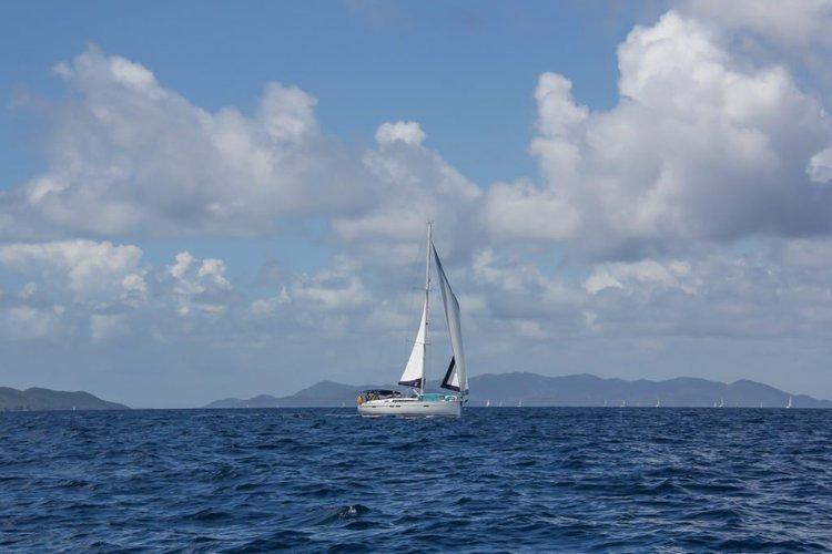 Bavaria's 46.0 feet in Nanny Cay