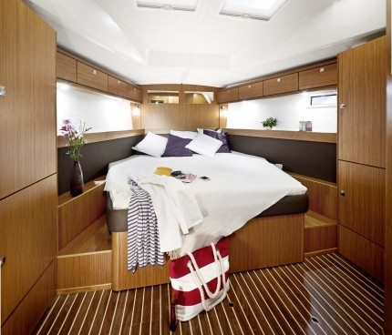 Discover Nanny Cay surroundings on this Cruiser 46 Bavaria boat