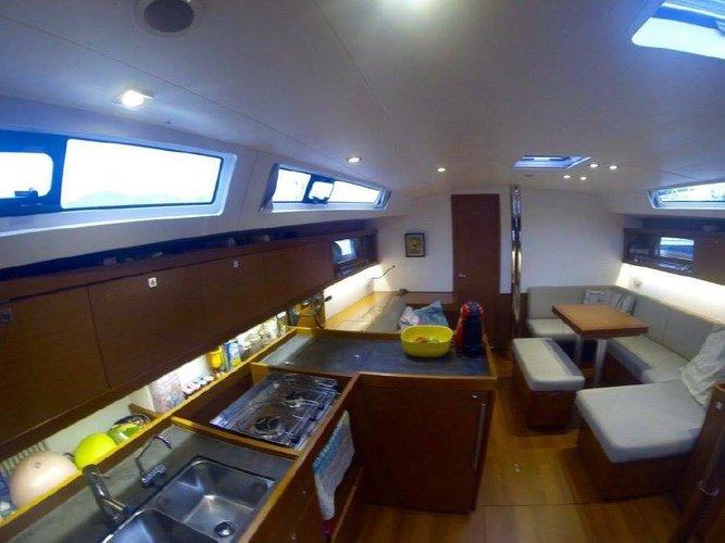 Beneteau's 45.0 feet in True Blue
