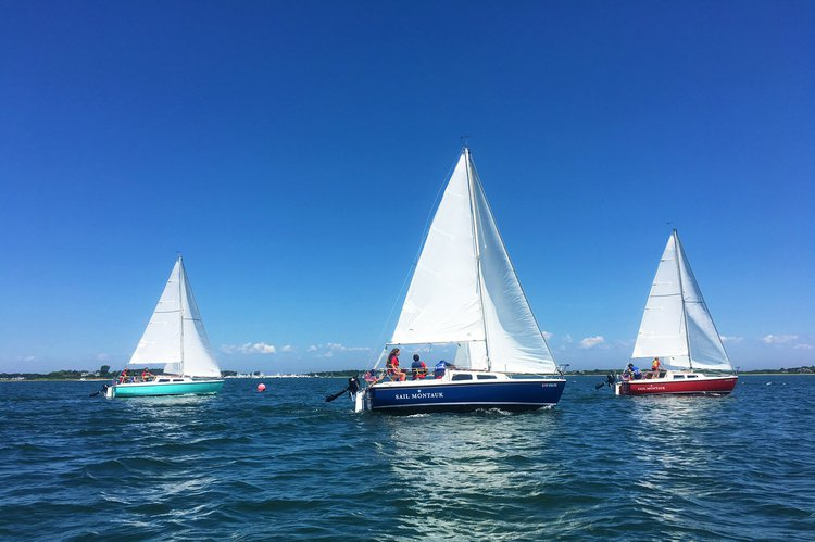 Experience Sail Montauk aboard your own private sailboat.