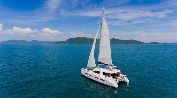 Awesome cruising catamaran for charter in Phuket