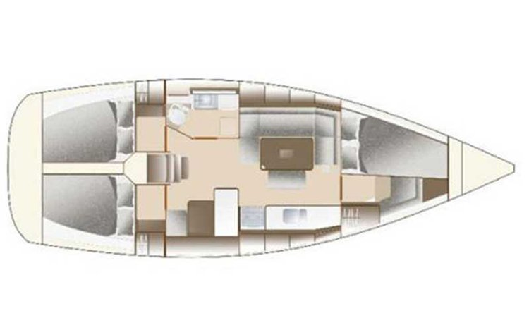 Discover Long Beach surroundings on this 375 Dufour boat