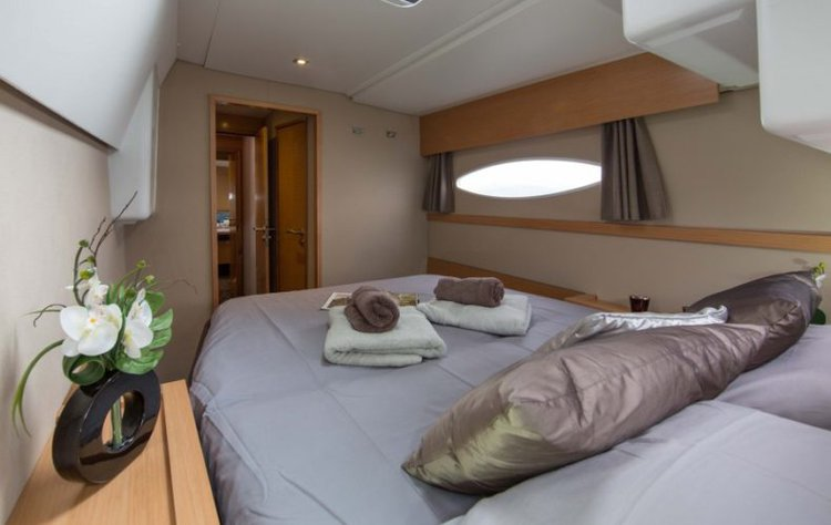 Boat for rent Fontaine-Pajot 43.0 feet in True Blue,
