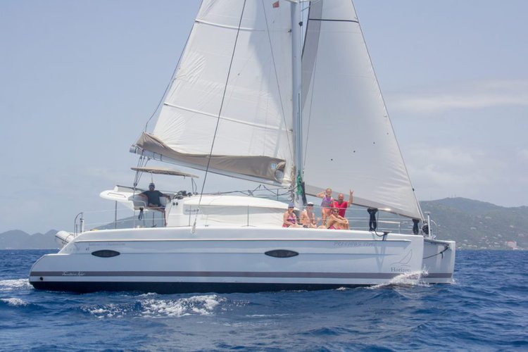 Catamaran boat rental in Nanny Cay,