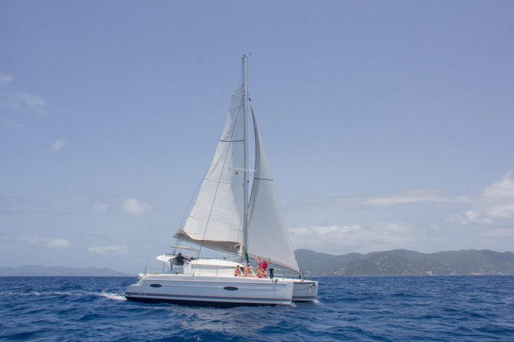 Experience the British Virgin Islands aboard this beautiful Fountaine-Pajot
